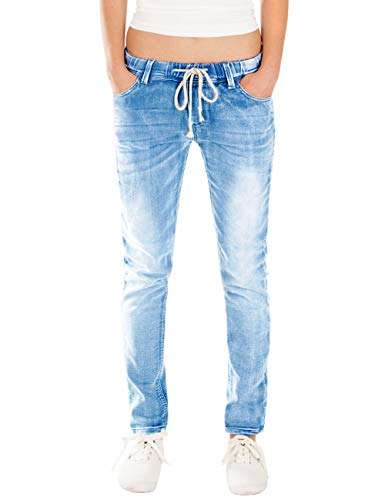 Fraternel Damen Jeans Hose Relaxed Loose fit Blau XL