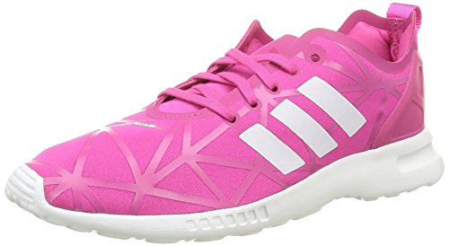 adidas Damen ZX Flux ADV Smooth W S79502 Sneakers, Pink (EQT Pink/EQT Pink/Core White), 40 EU